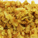 Kokosnuss-Chips mit feinem Curry  250g