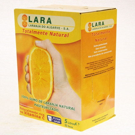 Orangen - Direkt - Saft Lara,  5 Ltr. Frischebag
