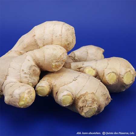 Ginger, fresh tubers, all-natural, (Zingiber officinale) 500g