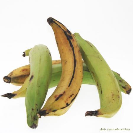 Banana da terra, Brat- und Kochbanane, Saba-Banane, Stück