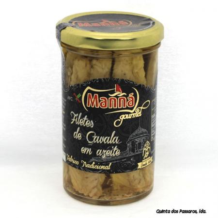 Makrelen-Filets in Olivenöl