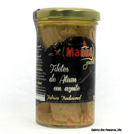 Thunfisch-Filets in Olivenöl