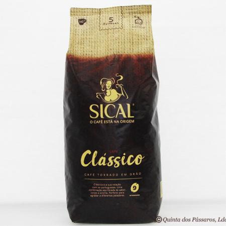 Kaffee SICAL 5* classico, Intensidade 9, Ganze Bohne, 1 kg