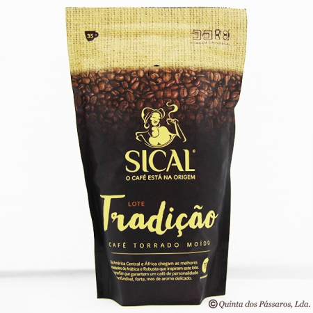 SICAL Coffee, milled, variety tradicao, package of 250g