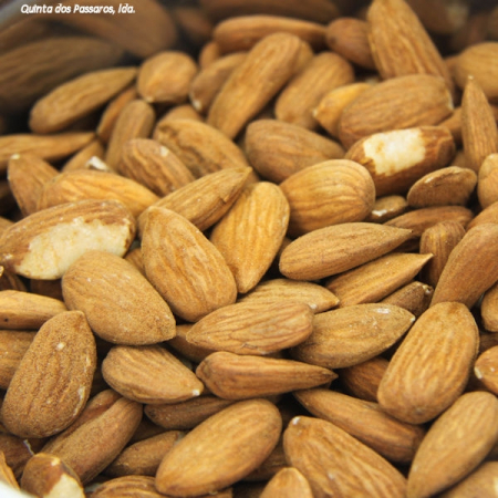 Organic almonds, sweet almonds, with skin, not size sorted, per kg