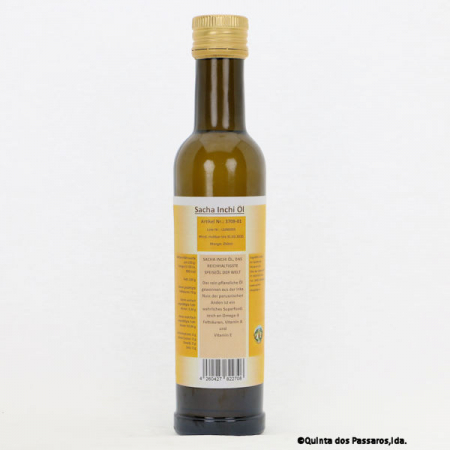Sacha Inchi oil cold pressed from controlled cultivation 250ml