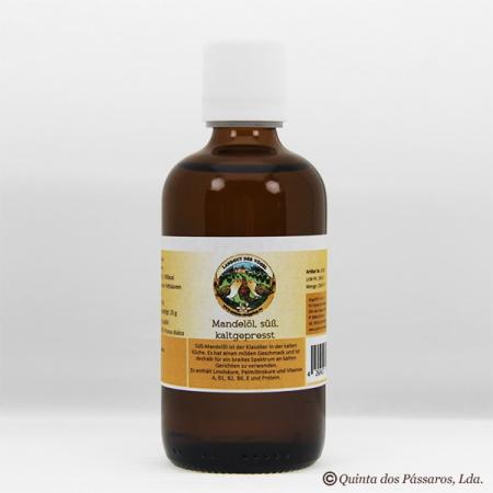 Mandelöl süß, kaltgepresst, nativ, virgin 100 ml