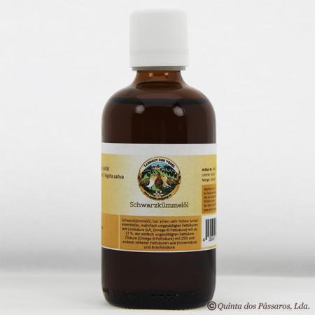 Schwarzkümmelöl, nativ, kaltgepresst. Kontrollierte Qualität 100 ml