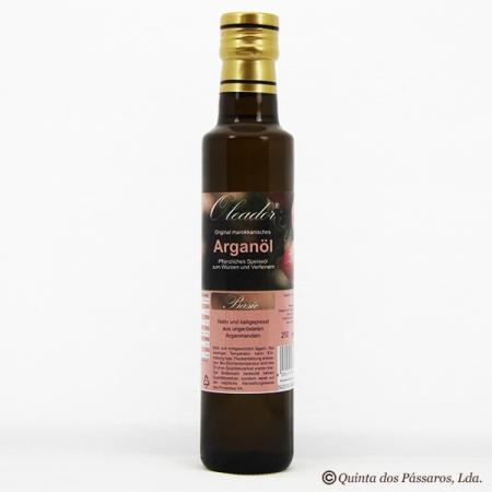 Argan ÖL, ungeröstet, nativ, kaltgepresst, Speise- und Haut- Öl kbA, 250 ml