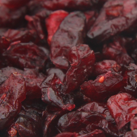 Cranberries dried, (cranberries) non-sulphurised