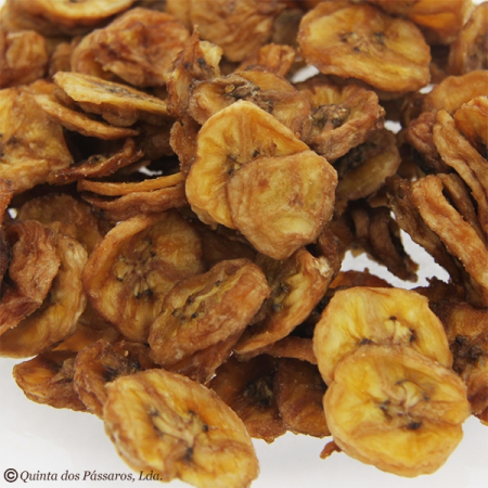Banana slices naturally dried, untreated. Check quality 200g ZIP