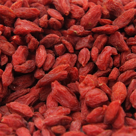 Goji berries dried, untreated, controlled goods