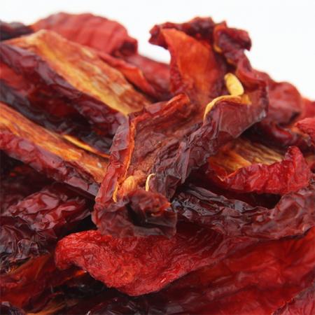 Paprika getrocknet, grob geschnitten  unbehandelt  200g