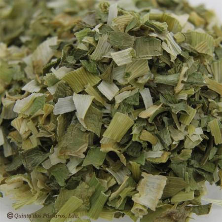 Lauch/Porree grün-weiß geschnitten und getrocknet. Kontrollierte Qualität 200g
