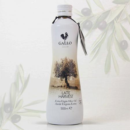 Olivenöl Gallo LATE HARVEST, Virgin Extra 0,3% 500ml Fla.