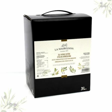 Olivenöl Arbequina, Virgin extra, kaltgepresst, 3Ltr Frische-Bag