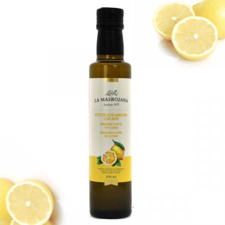 Olivenöl Arbequina, Virgin extra ZITRONE 250ml Fla.