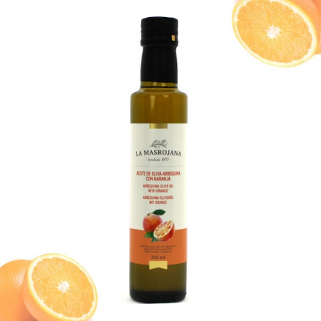 Olivenöl Arbequina, Virgin extra ORANGE 250ml Fla.