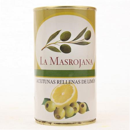 Manzanilla Oliven, gefüllt mit Zitrone, 370ml Dose