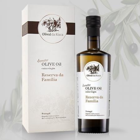 Olivenöl Olival da Risca RESERVA da Familia, Demeter 500ml Fla.