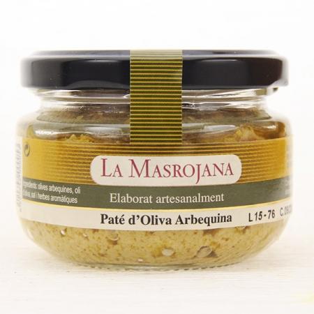 Olivenpaste, aus Arbequina Oliven, 100g Glas