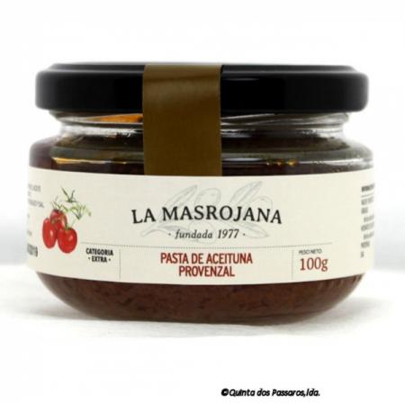 Olivenpaste, aus Arbequina Oliven, Tomate und Kräuter der Provence