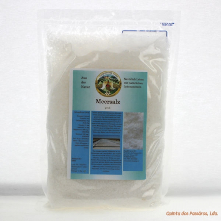 Sea salt, natural coarse, 1 kg (sal grosso)