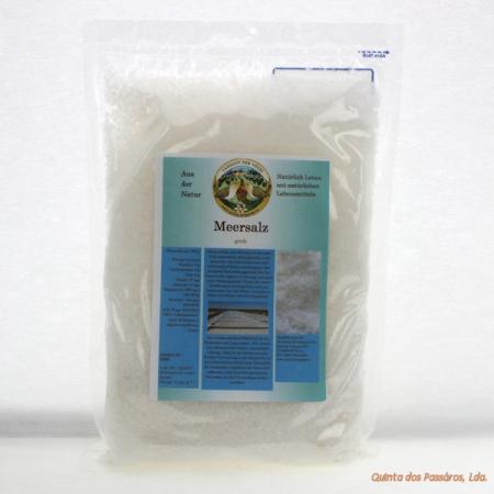 Meersalz, naturbelassen grob, 1 Kg (sal grosso)