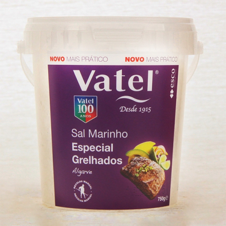 Meersalz, naturbelassen grob, Vatel Spezial für Gegrilltes 750g