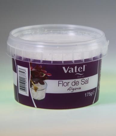 Flor de Sal, Vatel - Meersalz - Algarve, 175g Becher