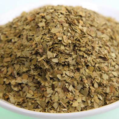 Mate-Tee; Mateblätter geschnitten. Kontrollierte Qualität