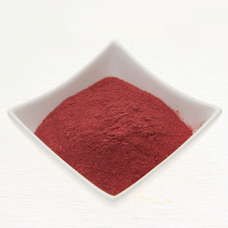 Beetroot powder, untreated, raw food. Controlled quality