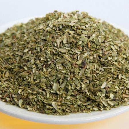 Olivenblätter geschnitten, zur Teezubereitung. Kontrollierte Qualität 100g
