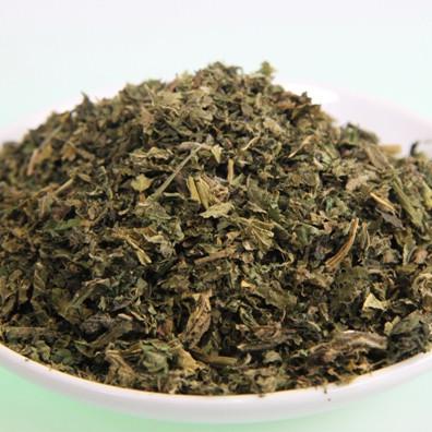 Brennesselblätter-Tee, geschnitten. Kontrollierte Qualität.