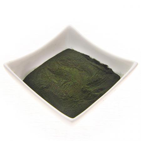 Alge Spirulina platensis, gemahlen. Kontrollierte Qualität, 100g