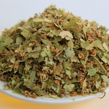 Lindenblüten-Tee geschnitten ( tilia), silber. Kontrollierte Qualität 50g
