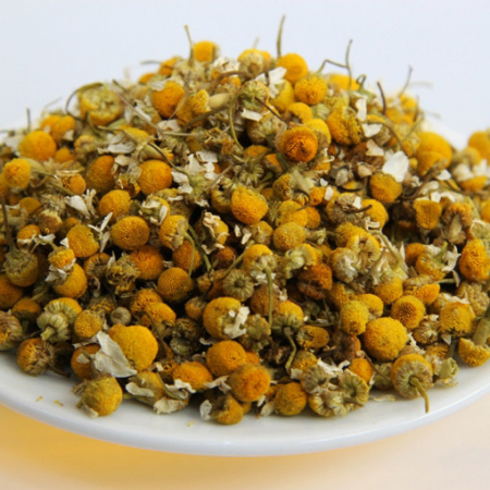 Chamomile flowers whole. 1st sorting. Controlled quality 100g