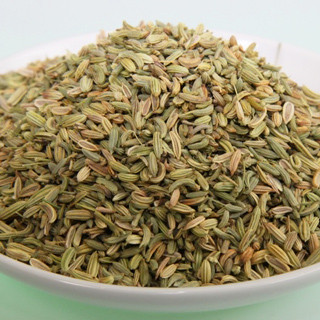 Fennel seed green, whole. Controlled quality 50g