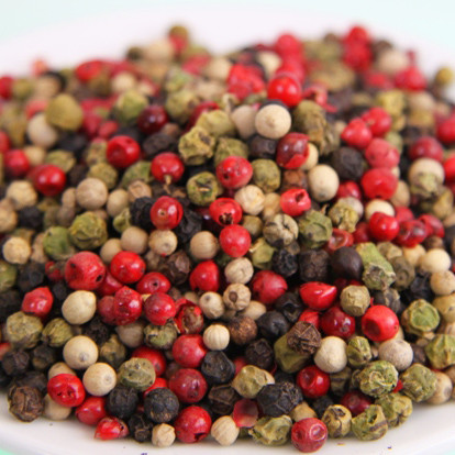 Pepper colorful, whole. Controlled quality 100g