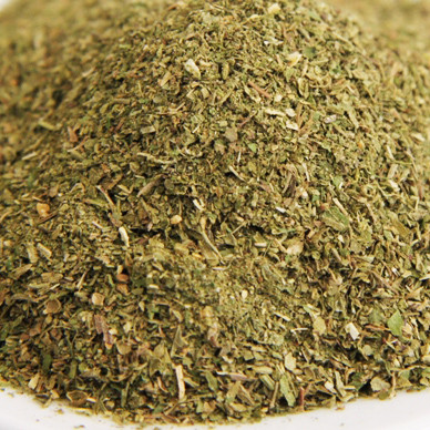 Salad herb mixture for fresh salads. Controlled quality