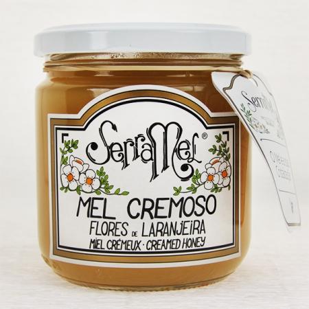 Cremiger Orangenblüten-Honig (mel cremoso) 420g Glas