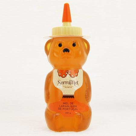 Kinder-Honig-Bärinflasche-Orangenblütenhonig (Ursa) 340g Flasche