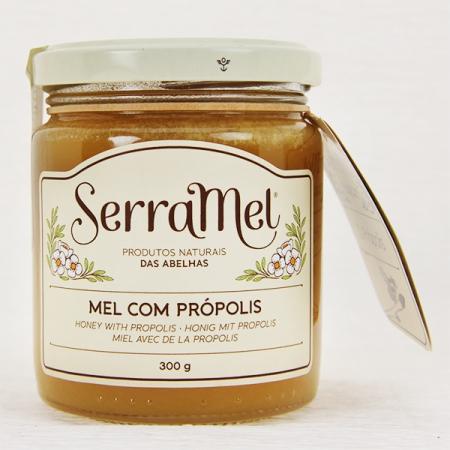 Heide-Honig mit Propolis (mel com propolis) 300g Glas