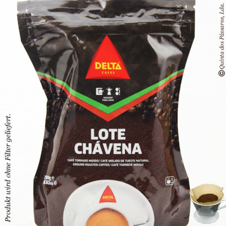 Coffee delta, espresso, grounded, package of 250g