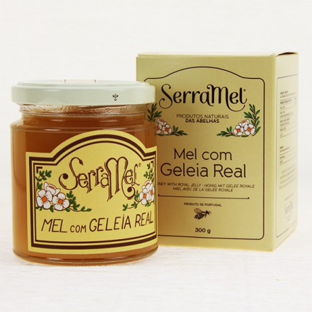 Heath honey with royal jelly, 300g glass