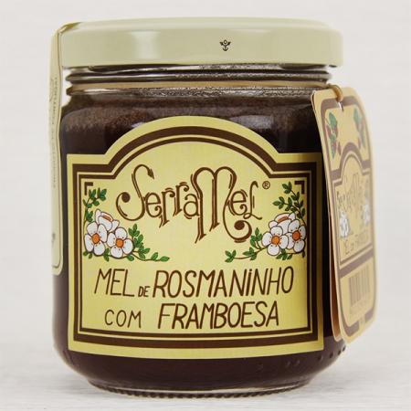 Wilder Rosmarin-Honig mit Himbeer (mel com framboesa) 240g Glas