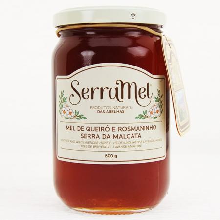 Heide- und wilder Lavendelhonig (mel de queiro e rosmarinho) 500g Glas