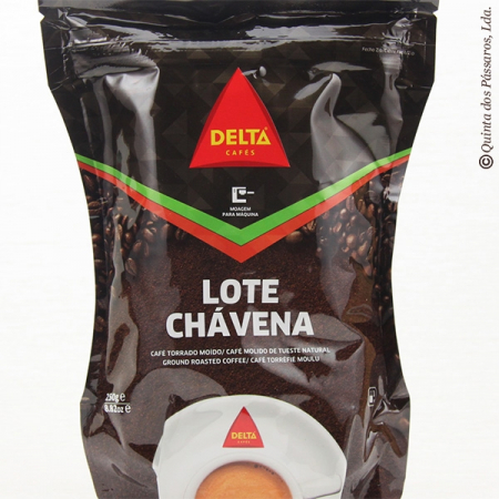 Coffee delta, espresso, extra fine grounded, package of 250g