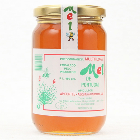 Orangenblüten-Kräuter-Honig, 500g Glas