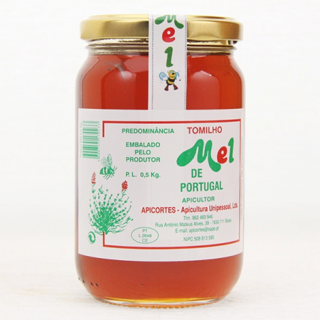 Thyme honey, 500g glass